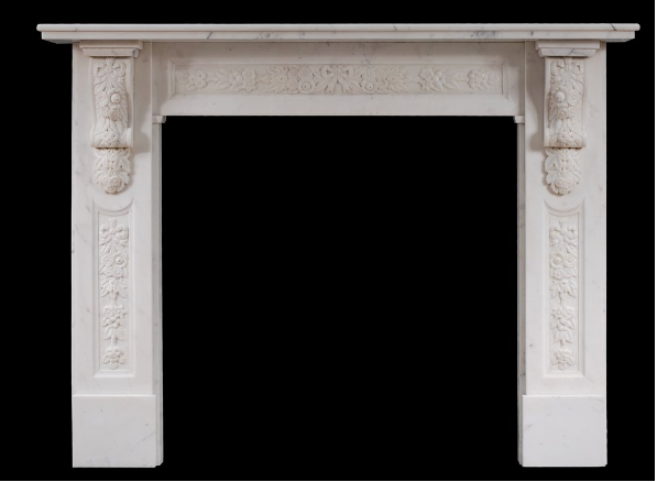 Victorian Marble Fireplace - Thornhill Galleries