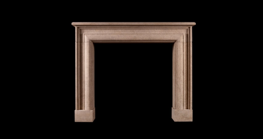 MOULDED BATH STONE FIREPLACE